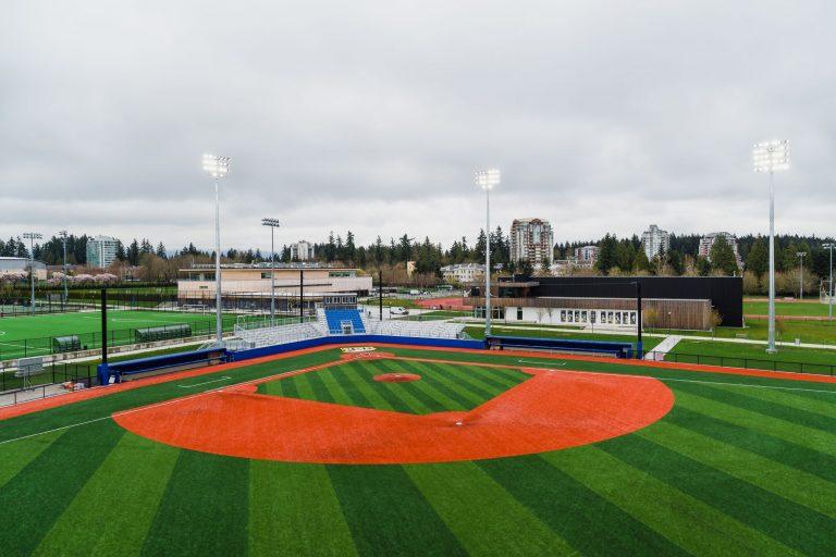 Tourmaline West Baseball Stadium Ubc Athletics Amp Recreation